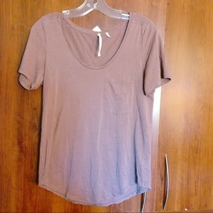 Group by Babaton ARITZIA Scoop Neck Tee Small